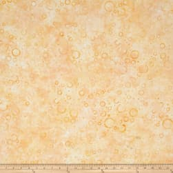 Wilmington Batiks Floating Circles Cream/Gold