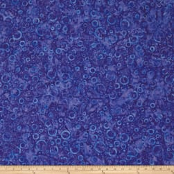 Wilmington Batiks Floating Circles Blue