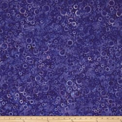 Wilmington Batiks Floating Circles Dark Purple