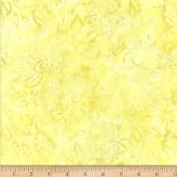 Wilmington Batiks Packed Floral Mix Yellow