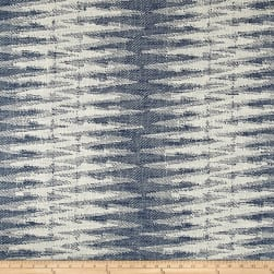 Justina Blakeney Boogie Basketweave Indigo Fabric