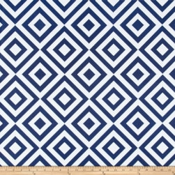 Machine Washable Polyjane Navy Fabric