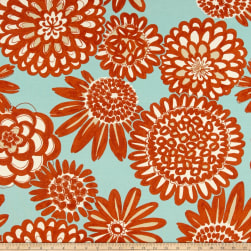 Genevieve Gorder Outdoor Flower Pops Monsoon Fabric