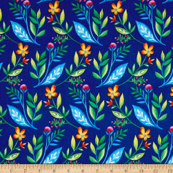 Michael Miller Frolic Maggie Jean Royal Fabric