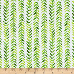 Michael Miller Frolic Tresse Lime Fabric
