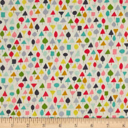 Michael Miller Our Yard Little Orchard Garden Fabric