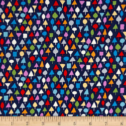 Michael Miller Our Yard Little Orchard Midnite Fabric