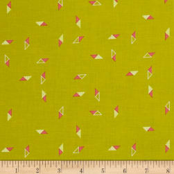 Michael Miller In Bloom Harmony Citron Fabric