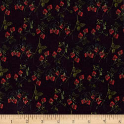Liberty Fabrics Kensington Crepe de Chine Strawberry Fields