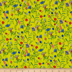 Liberty Fabrics Kensington Crepe de Chine Temptation Meadow