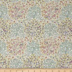 Liberty Fabrics Classic Tana Lawn Jess and Jean Green/Yellow/Blue