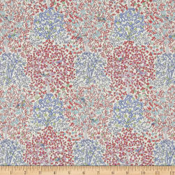 Liberty Fabrics Classic Tana Lawn Jess and Jean Red/White/Blue