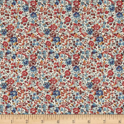 Liberty Fabrics Classic Tana Lawn Emma and Georgina Multi