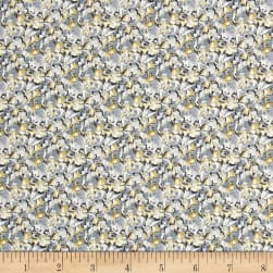 Liberty Fabrics Saville Poplin Alba Light Blue/Yellow Fabric