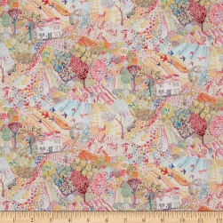 Liberty Fabrics Tana Lawn Royal Oak House Multi