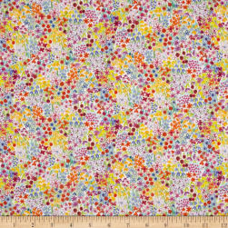 Liberty Fabrics Tana Lawn Poppy's Meadow Purple/Blue/Multi Fabric