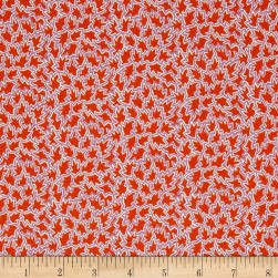 Liberty Fabrics Tana Lawn Tree Tops Red/Purple Fabric