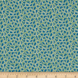 Liberty Fabrics Tana Lawn Tree Tops Green/Teal Fabric