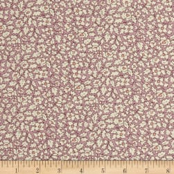 Liberty Fabrics Tana Lawn Feather Fields Pink/White Fabric