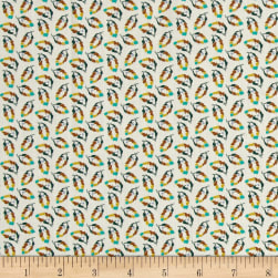 Liberty Fabrics Tana Lawn Fancy Free Yellow/Green/Orange