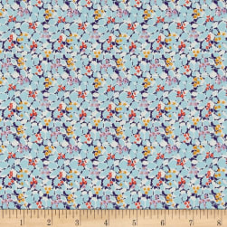 Liberty Fabrics Tana Lawn Hedgerow Light Turquoise