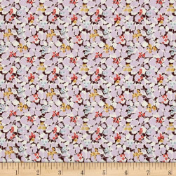 Liberty Fabrics Tana Lawn Hedgerow Pink/Maroon