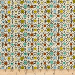Liberty Fabrics Tana Lawn Happy Bloom Yellow/Orange Fabric