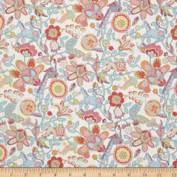 Liberty Fabrics Tana Lawn Mythical Forest Yellow/Blue/Pink Fabric