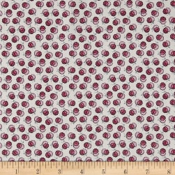 Liberty Fabrics Tana Lawn Lion Blossom Cream/Pink Fabric