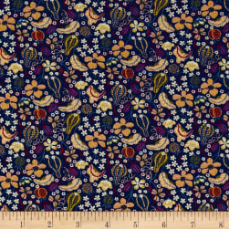 Liberty Fabrics Jersey Knit Fruitful Multi Fabric