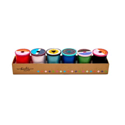 Cotton + Steel 50wt. Cotton Thread Set by Sulky Kicks Collection