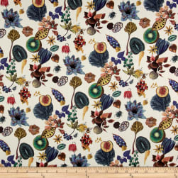 Liberty Fabrics Tana Lawn Floral Earth Multi Fabric