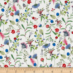 Liberty Fabrics Tana Lawn Temptation Meadow Red/Blue/Green
