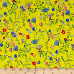 Liberty Fabrics Tana Lawn Temptation Meadow Yellow/Pink/Blue