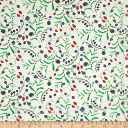 Liberty Fabrics Tana Lawn Berry Dream White/Red/Blue Fabric