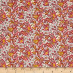 Liberty Fabrics Tana Lawn Lemon Flowers Peach/Pink