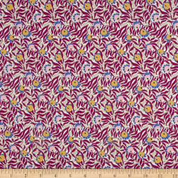 Liberty Fabrics Tana Lawn Huckleberry Purple/Grey Fabric