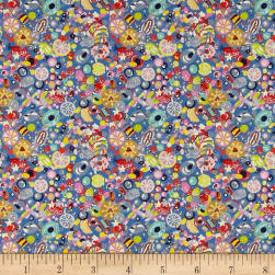 Liberty Fabrics Tana Lawn Sugar Rush Blue/Multi Fabric