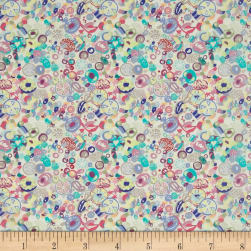 Liberty Fabrics Tana Lawn Sugar Rush Purple/Multi Fabric
