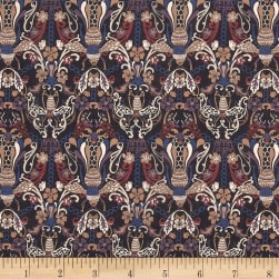 Liberty Fabrics Tana Lawn Queen Bee Brown/Purple Fabric