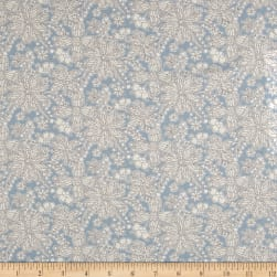 Liberty Fabrics Tana Lawn Buzz Blossom Light Green