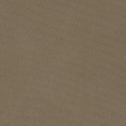Venezia Solid Stretch ITY Knit Taupe Fabric