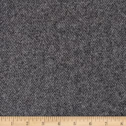 Clarence House Marston Italian Wool Blend Melton Grey