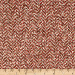 Clarence House Maxwell Tweed Cayenne Fabric