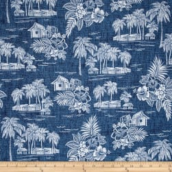 Michael Miller Tradewinds Tradewinds Navy Fabric
