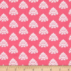 Michael Miller Tradewinds Marissa Raspberry Fabric