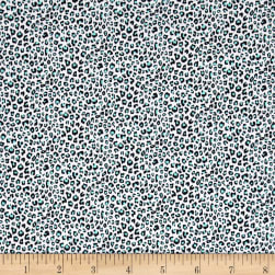 Michael Miller Trekking Spot The Cheetah Gray Fabric