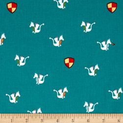 Michael Miller Good Knight Magic Dragon Isle Fabric