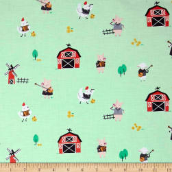Michael Miller Happy Hoedown Stay Tuned Spring Fabric