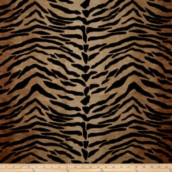Safari Madness Upholstery Tiger Toffee Fabric